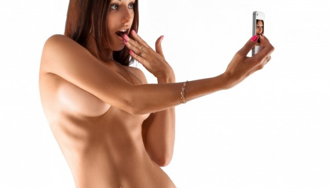 Do you have nude photographs of yourself on your phone?