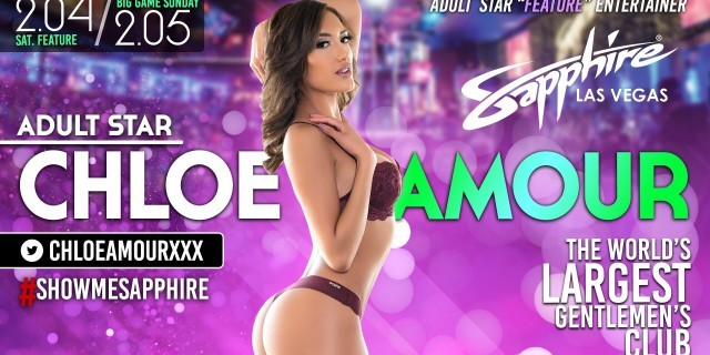 Chloe Amour headlines Super Bowl Weekend at Sapphire Las Vegas