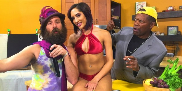 Chloe Amour/Dromebox Labs wraps production of Episode 5 of the Jack Jimminy Show