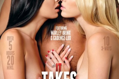 'It Takes Three #2' featuring Marley Brinx & Cadence Lux