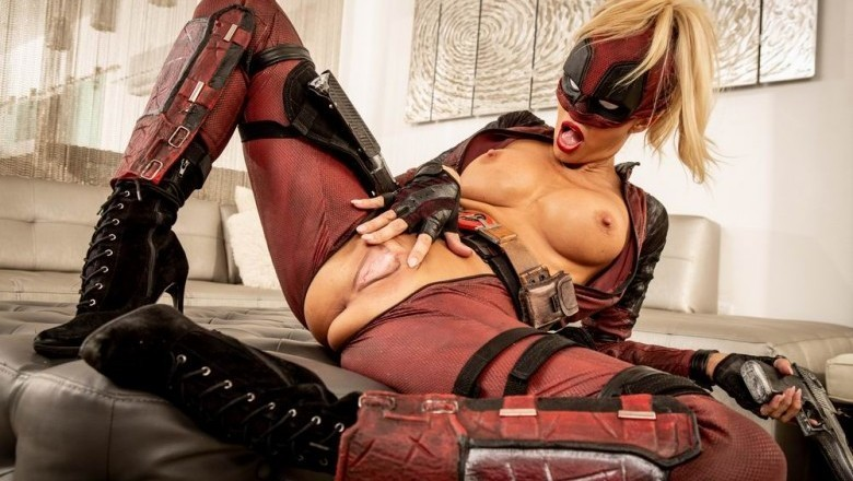 Exclusive XXX Pics of Jessica Drake from 'Deadpool XXX: An Axel Braun Parody'