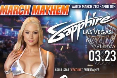 Sarah Vandella Lights Up Vegas This Weekend with Sapphire Feature
