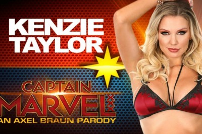 Axel Braun Casts Kenzie Taylor as Captain Marvel