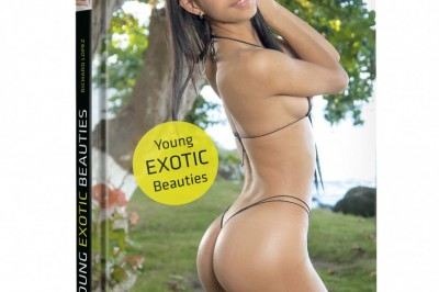 Add a little heat to the holidays with these booty-ful babes from Goliath Book's Young Exotic Beauties!