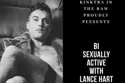 Lance Hart Gets Bi-Sexually Active with Kinktra in the Raw