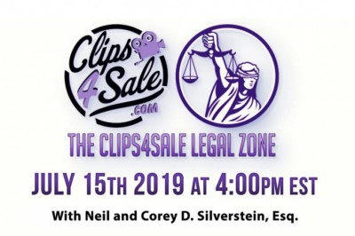 Neil & Corey D. Silverstein, Esq. Come Together in the Clips4Sale Legal Zone