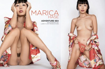 Marica Hase Scores Spotlight Spread in October 2019 Hustler Mag