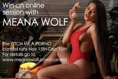 Meana Wolf's Pitch Me a Porn Script Contest Starts TODAY