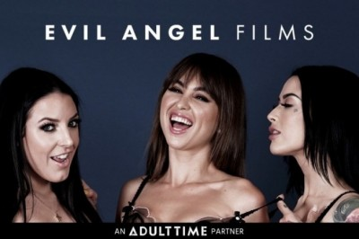 Adult Time Launches Evil Angel Channel With Riley Reid, Angela White